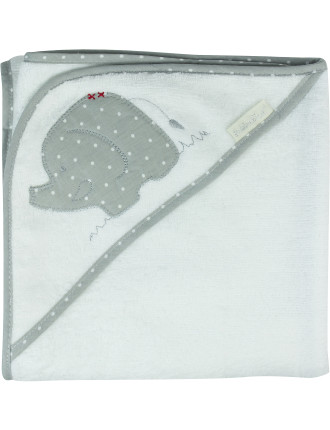 Petit Elephant Hooded Towel