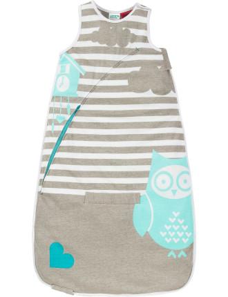 Love To Inventa Sleep Bag 1.0 Tog Owl Print