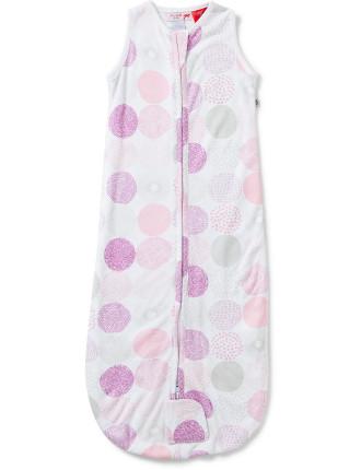 Plum Bamboo Cotton 1.0 Tog Jersey Sleepbag