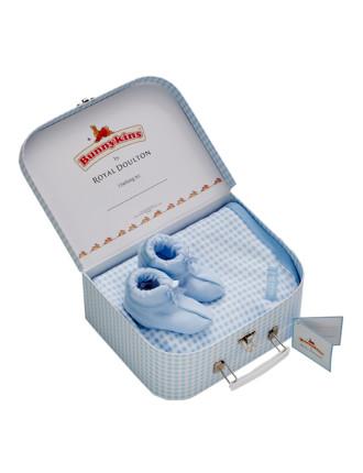 Bunnykins Wrap & Booties Gift Suitcase