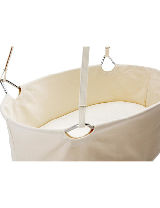 Cradle (Includes Mattress And Ceiling Hook)