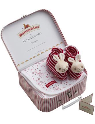 Bunnykins 2 Piece Suitcase Gift Set