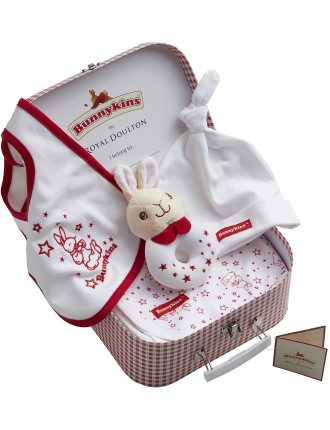 Bunnykins 4 Piece Suitcase Gift Set