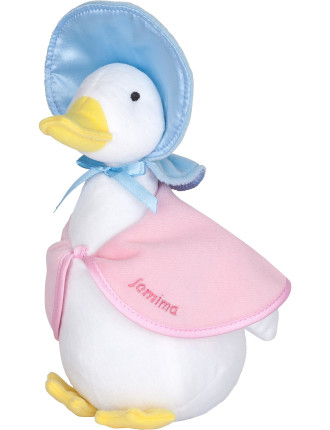 Jemima Puddle Duck Silky Beanbag Plush