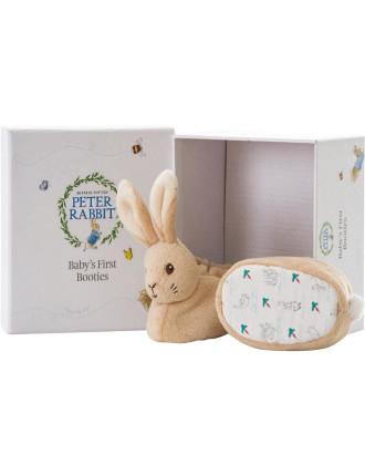Peter Rabbit My First Booties Set