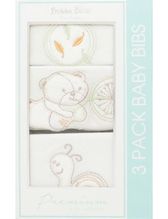 Fly Away 3 Pack Bib Gift Box