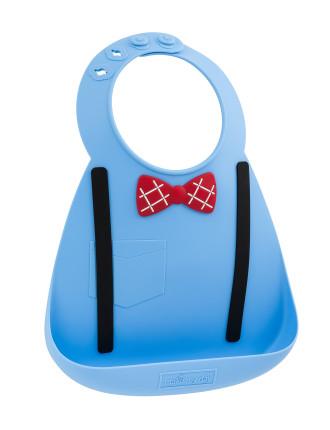 Scholar Blue Baby Bib