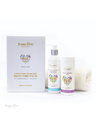 Bubba Blue 2 Piece Bath Time Skincare Gift Pack