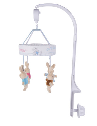 Peter Rabbit & Flopsy Bunny Musical Mobile Boxed