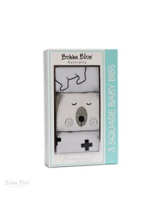 Polar Bear 3 Pack Bib Gift Box