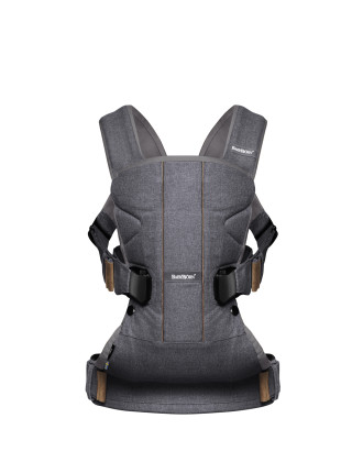 Baby Carrier One Denim Grey Cotton Mix