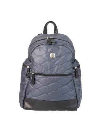 Indigo Cotton Quilt Backpack