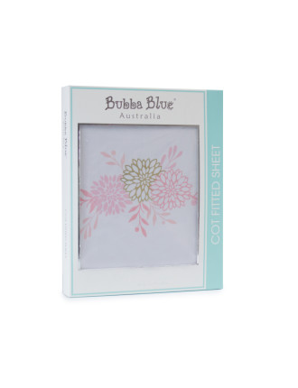 Bubba Blue Flamingo Cot Fitted Sheet