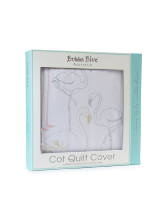Bubba Blue Flamingo Cot Comforter