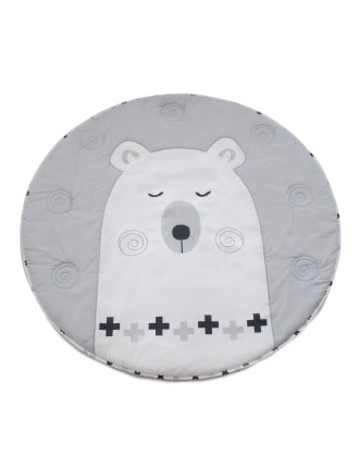 Bubba Blue Polar Bear Playmat