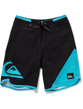 New Wave Everyday Youth 17 Boardshort (Boys 8-14 Years)