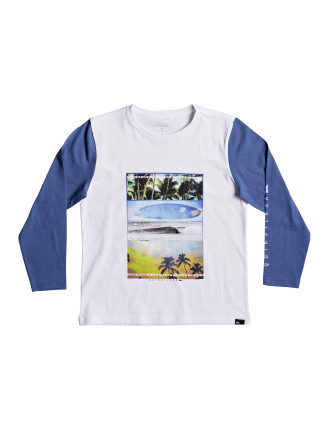 Place To Be L/S Tee  (Boys 2-7 Years)