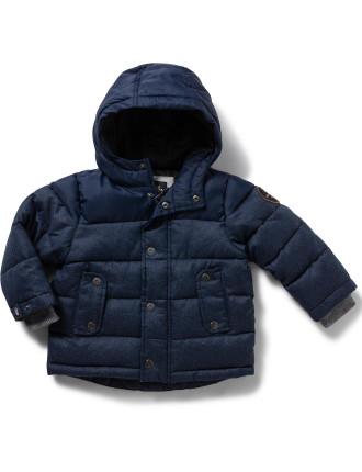 Woolmore Puffer Jacket Boys 2-7