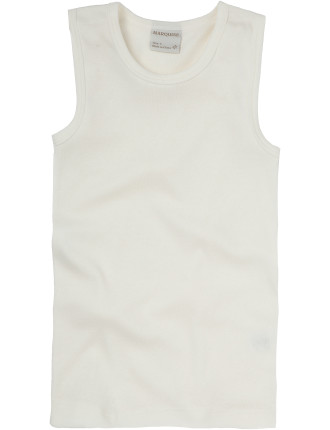 Marquise Cotton Wool Singlet Age 8-14