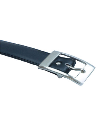 Black Belt - Square Buckle
