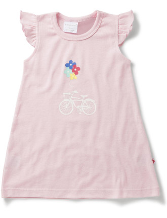 Girls Bike Flower Nightie