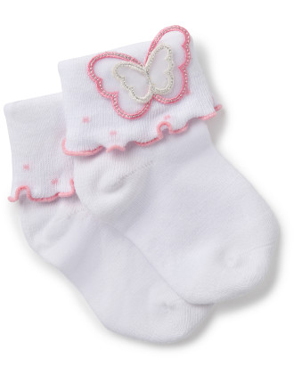 Butterfly Fantasia Sock