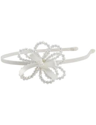 Crystal Flower Power Headband