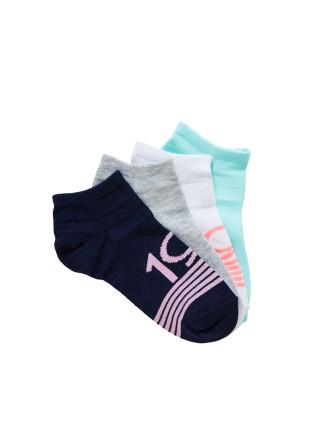 4pk Fashion Trainer Socks