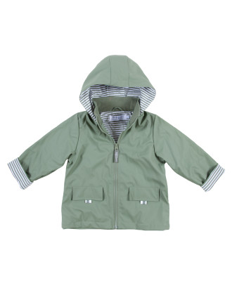 Boys/Unisex Raincoat - Khaki