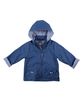 Boys/Unisex Raincoat - Navy