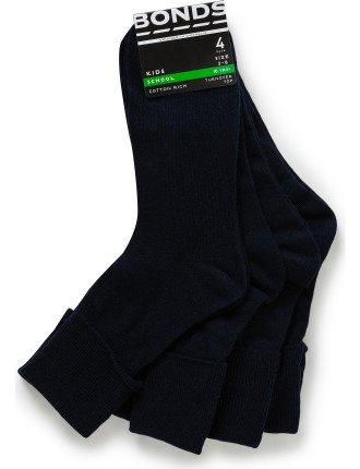 Kids School 4pk socks