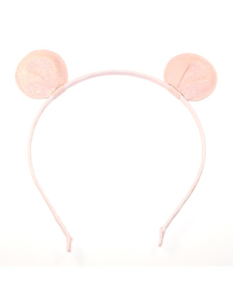 GLITTER BEAR EARS ALICE BAND