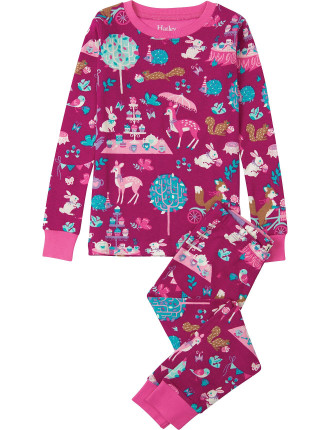 WOODLAND PJ SET