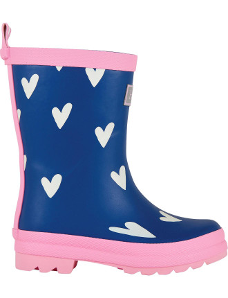 SPRINKLED HEARTS WELLY BOOTS