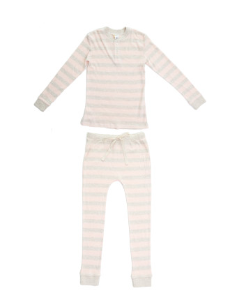 Soft Stripe PJ Set