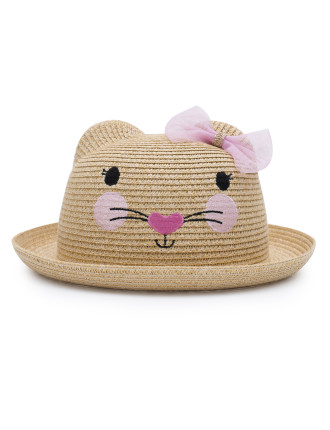 Mouse straw hat