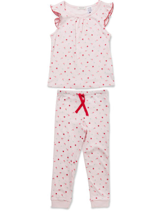 Winter Fruits SS Tee PJ Set