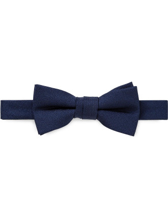 Self Fabric Loop Plain Bowtie (Boys)