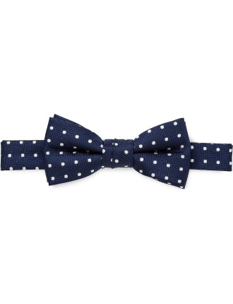 Self Fabric Loop Spot Bowtie (Boys)