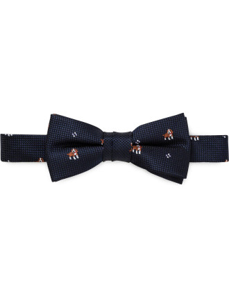 Self Fabric Loop Puppy Spot Bowtie (Boys)
