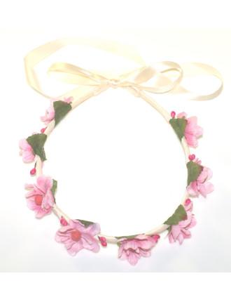 Blossom Ribbon Wrapped Garland.