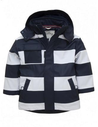 Boys Splash Jacket Stripe