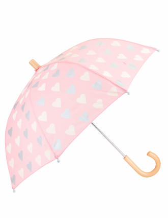 Metallic Hearts Umbrella