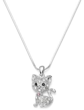 Kitty Diamante Necklace