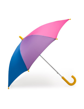 Rainbow Print Umbrella