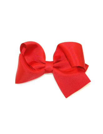 Grosgrain Large Turned Bow Clip.