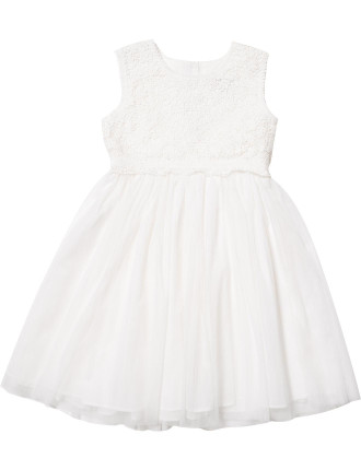 Sophia Lace Yoke Dress