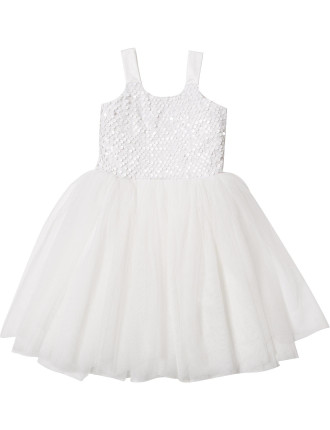 Sequin Bodice Tutu Dress