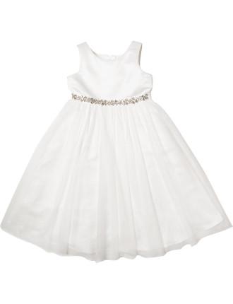 Diamante Trimmed Dress