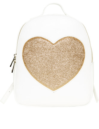 GLITTER HEART BACK PACK